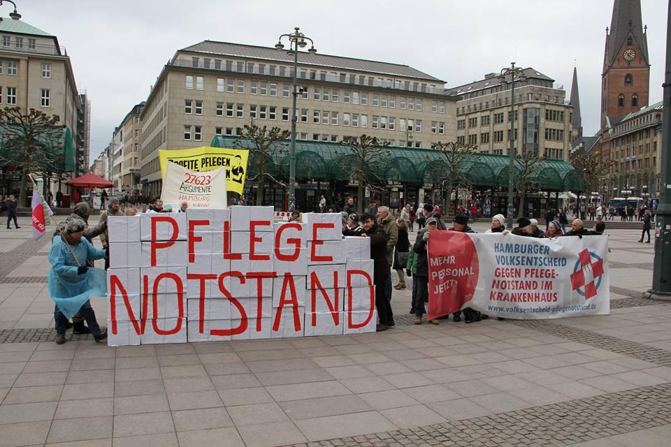 Volksinitiative sammelt an die 30.000 Unterschriften. DIE LINKE. Hamburg gratuliert.