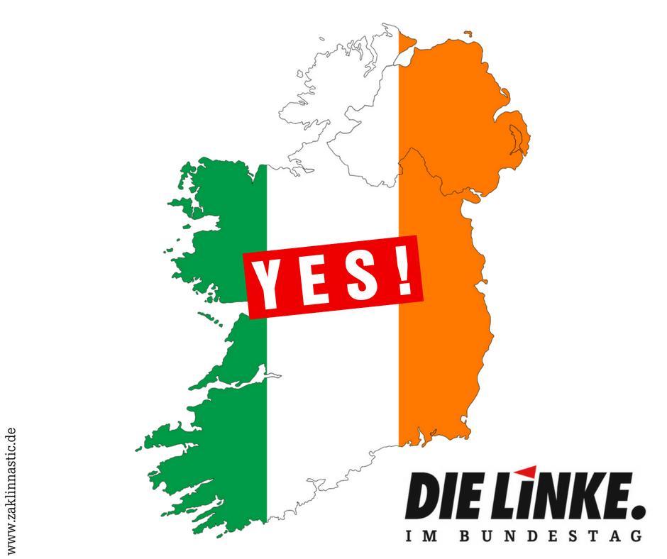 Irland sagt YES!