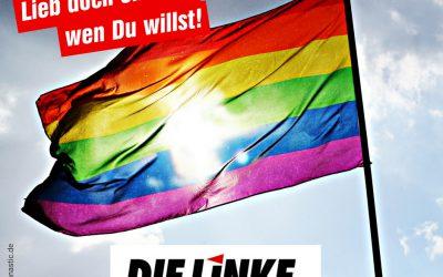 Heute ist der internationale Tag gegen Homophobie und Transphobie (IDAHOT)
