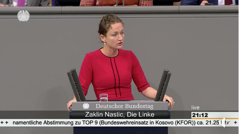Meine Bundestagsrede zum Bundeswehreinsatz im Kosovo (KFOR)