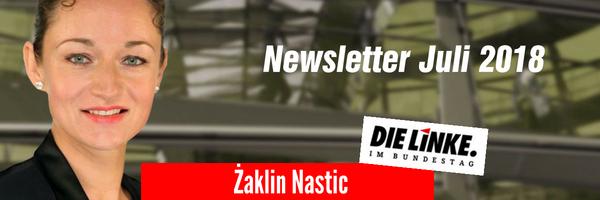Newsletter Juli 2018