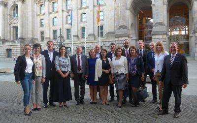 """Gespräch mit Delegation aus Staaten des """"westlichen Balkans"""""""
