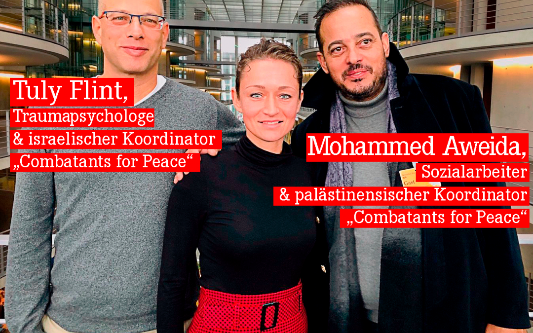 """""""Combatants for Peace"""" zum Austausch im Bundestag"""