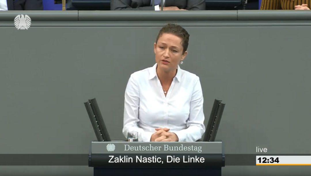 Ich lehne die Aufrüstungsrhethorik des polnischen Ministerpräsidenten Morawiecki aufs Schärste ab