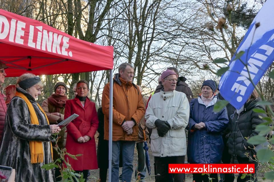 DIE LINKE.Eimsbüttel feiert Rosas 148. Geburtstag