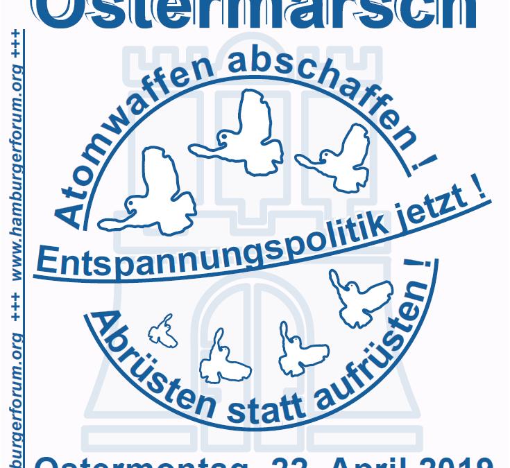 Heraus zum Ostermarsch: Für Frieden und Völkerverständigung