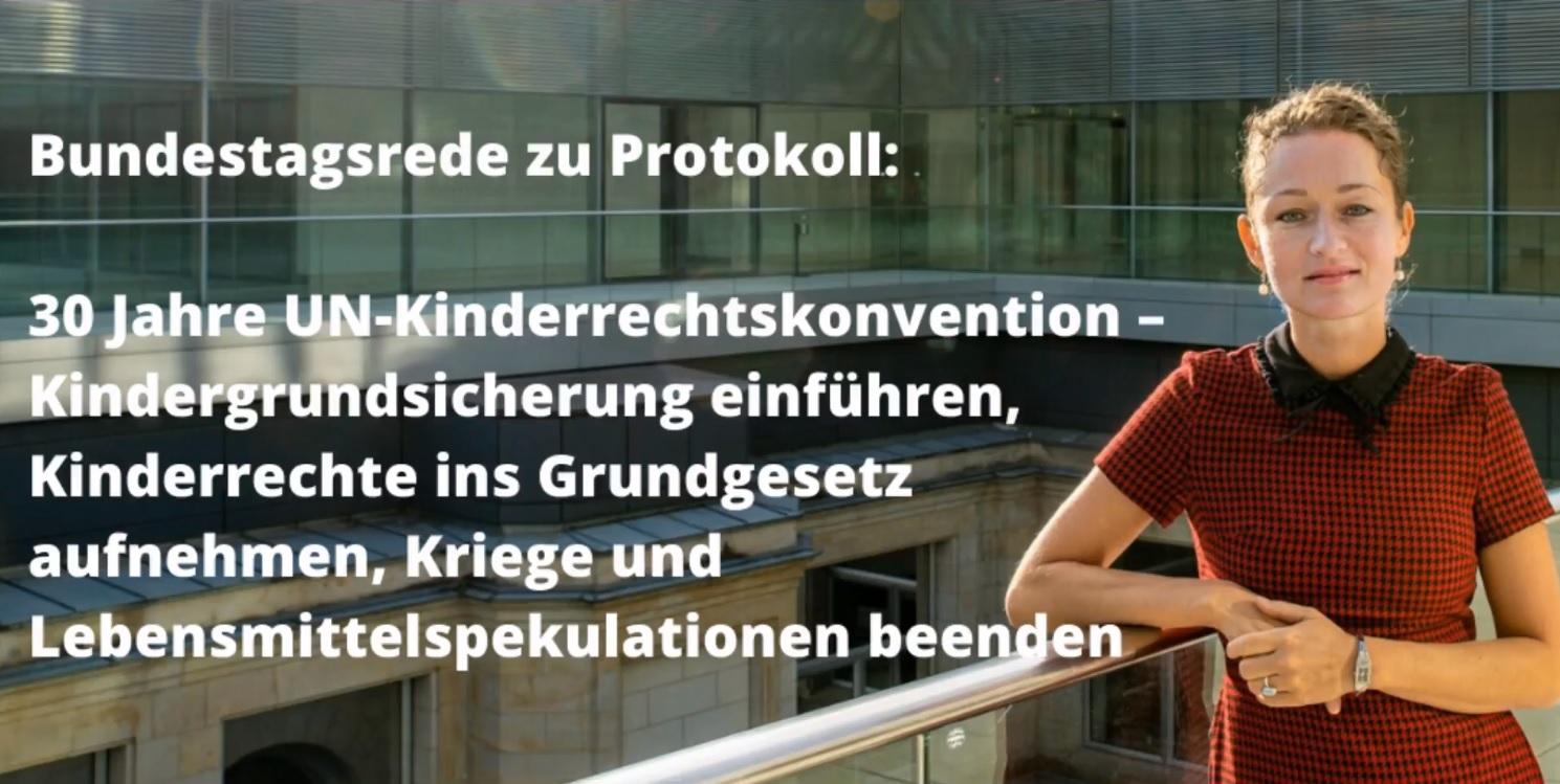 Rede UN-Kinderrechtskonvention