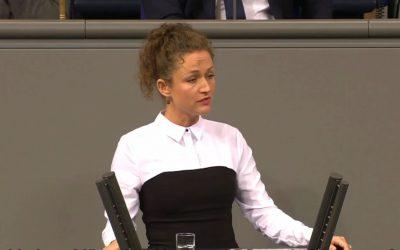 Ein Bericht, der wie Hohn klingt (meine Rede im Bundestag)