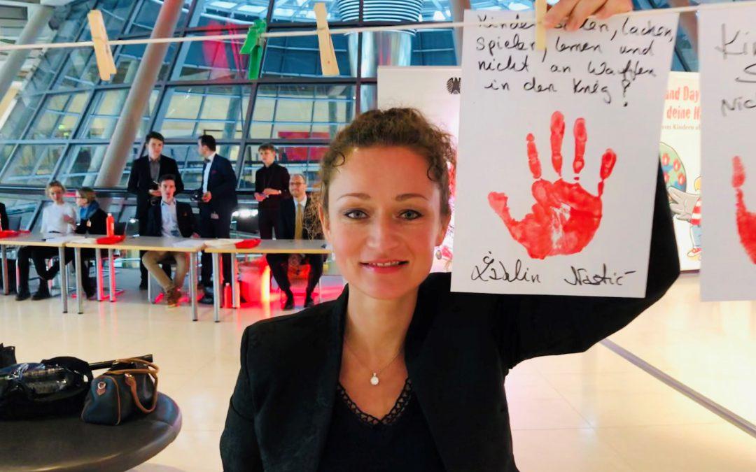 Kinderleben schützen – Menschenrecht auf Frieden umsetzen
