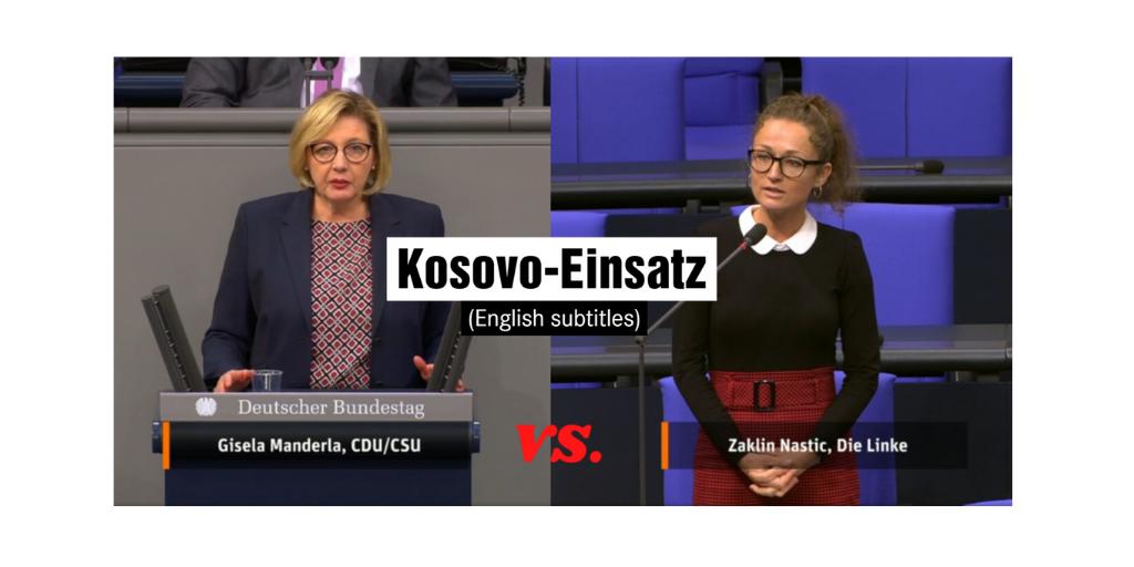CDU gibt zu: Kosovo ist ein NATO-Projekt!