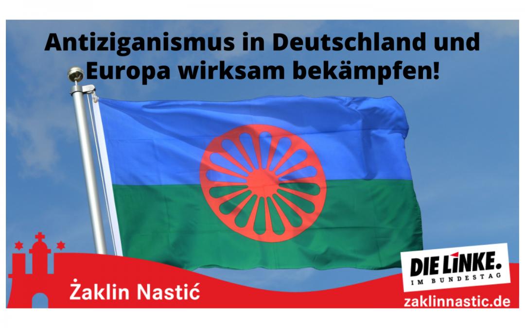 Antiziganismus in Deutschland und Europa wirksam bekämpfen