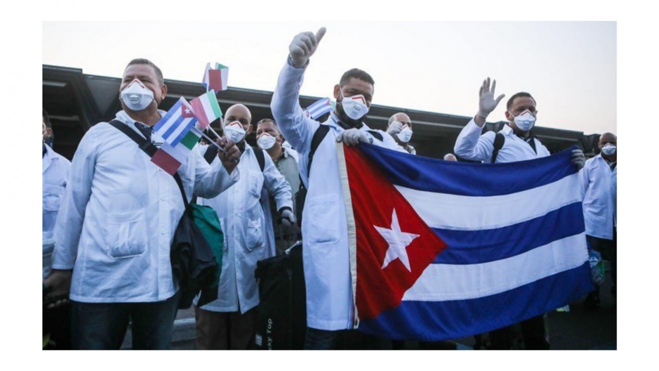 Nominierung der kubanischen Brigade Henry Reeve für den Friedensnobelpreis