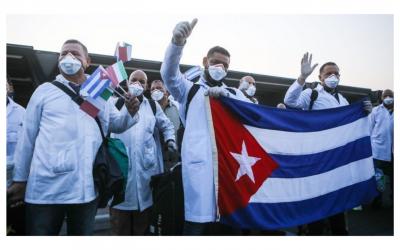Solidarität mit dem kubanischen Volk! Nobelpreis für Henry-Reeve-Brigade!