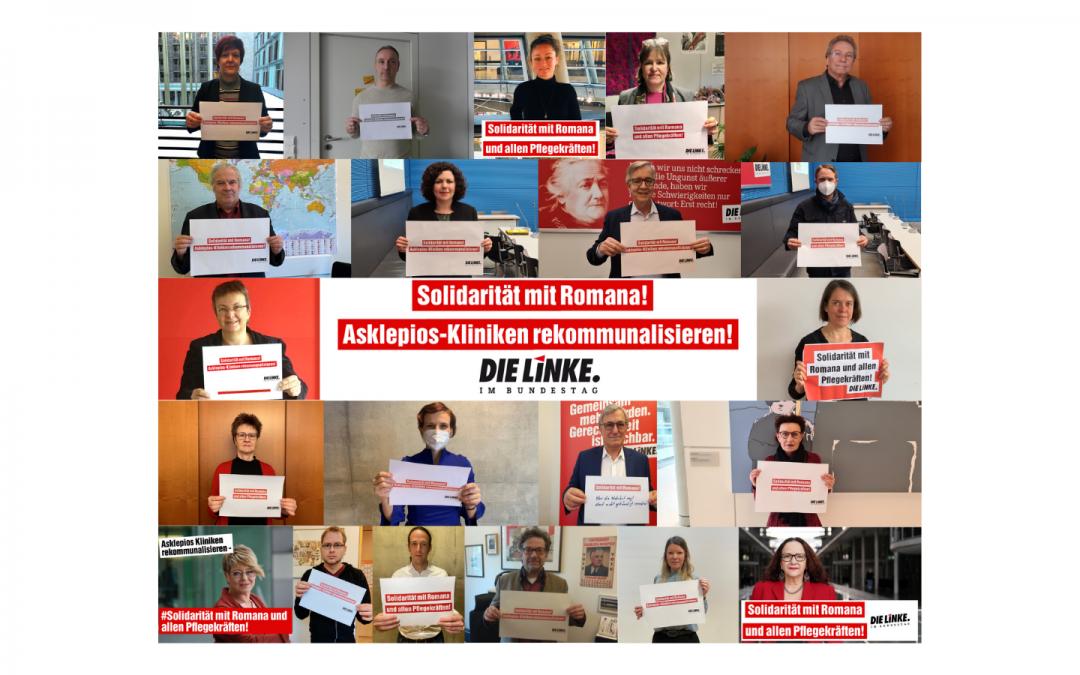 Solidarität mit Romana und allen Pflegekräften!