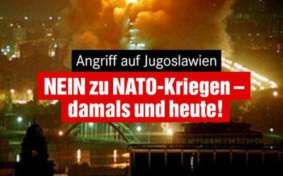22 Jahre NATO-Aggression gegen Jugoslawien