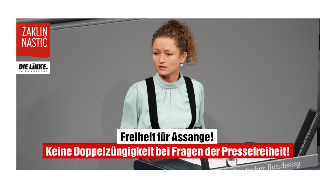 Pressefreiheit konsequent verteidigen – auch in Staaten der EU und NATO