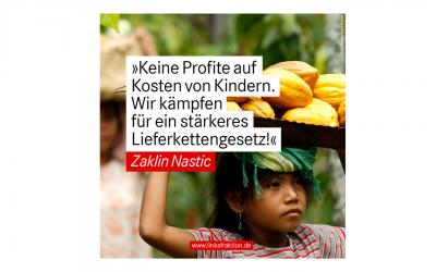 Keine Profite auf Kosten von Kindern!