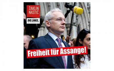 Freiheit für Julian Assange!